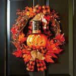 Halloween Front Door Wreaths