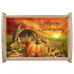 Thanksgiving Serving Trays & Platters