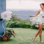 Retractable Garden Hose Reel