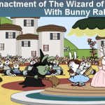 Review of 30 Second Bunnies Theatre: Classic Movies Re-Enacted With Bunnies