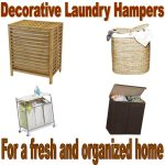 Decorative Laundry Hamper With Lid