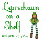 Leprechaun on a Shelf