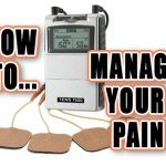 Pain Management Solution With Electric TENS Massage
