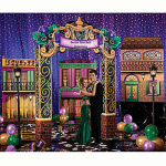 Fancy Mardi Gras Party Decorations and Props