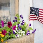 Memorial Day Garden Flags
