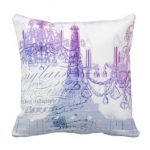Purple Throw Pillows & Throws