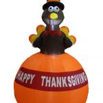 Outdoor Inflatable Thanksgiving Decorations