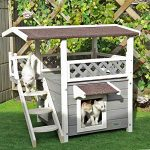 Outdoor Wooden Cat House