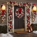 Christmas Porch Light Covers
