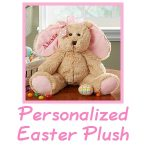 Personalized Easter Plush - Perfect Gift for Kids!
