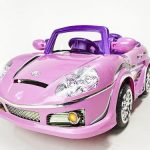 Pink Ride-On Cars for Girls