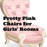 Pretty Pink Chairs For Girls' Rooms