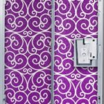 Purple Locker Decorations