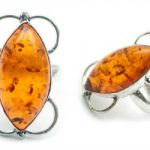 Amber & Silver Jewelry