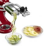 kitchenaid Spiralizer Attachment Peel Core Slice