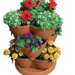 Patio Gardening and Stackable Planters