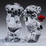 Swarovski Crystal Bear Figurines
