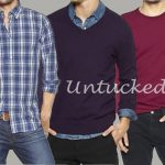 Untucked Shirts & Tops
