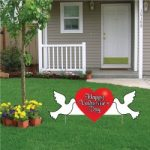 Valentine Day Outdoor Decorations for Home