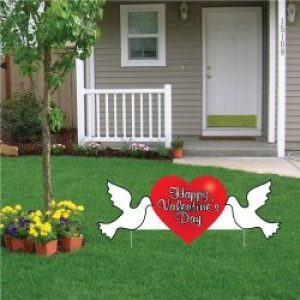 valentine day outdoor decorations for home - Valentine Outdoor Decorations