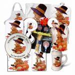 Kitchen & Dining Vintage Pilgrim Boy Autumn Products