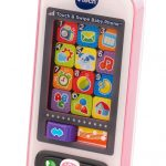 Vtech Touch Swipe Baby Phone Pink