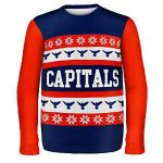 Washington Capitals Ugly Christmas Sweaters