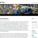 Wordpress's new Twenty Ten Theme is not effective for custom websites.