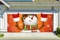 christmas garage door decorations - Garage Christmas Decorations