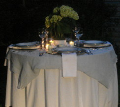 Layering Tablecloths