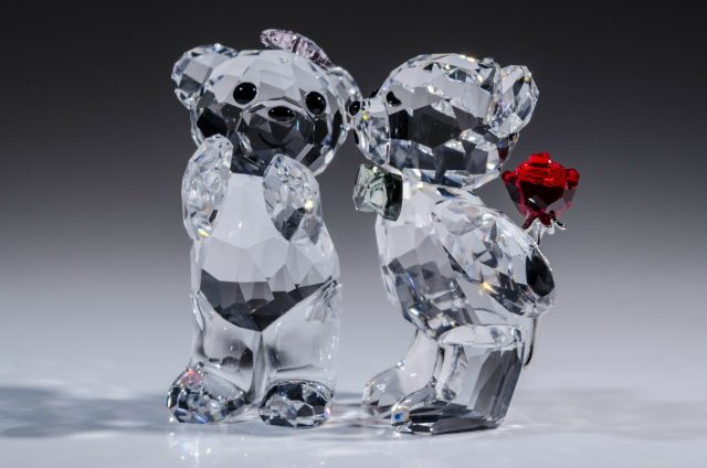 438dc64ebb Someone in Your Life Would Love a Swarovski Crystal Bear