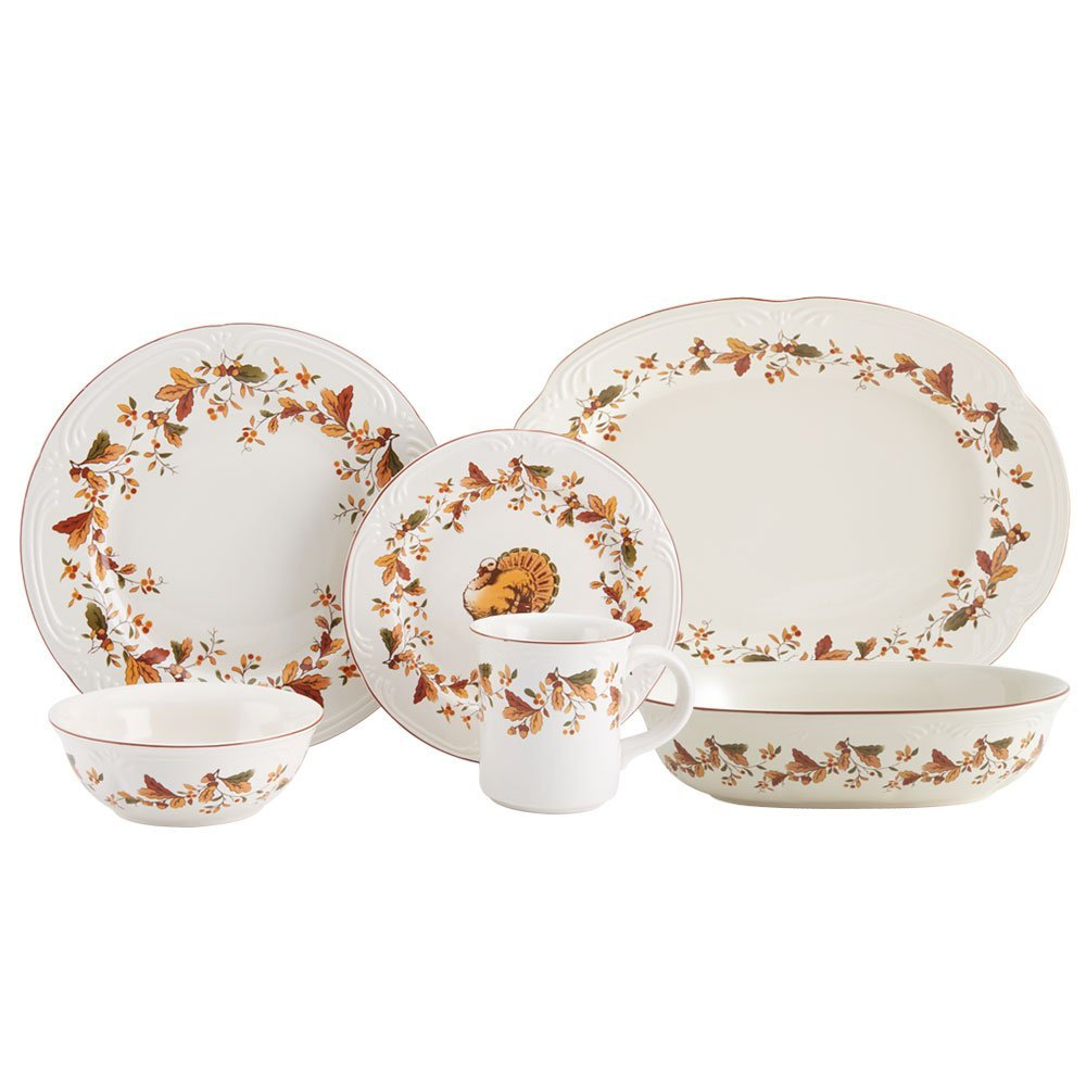 Thanksgiving Tableware  sc 1 st  WebNuggetz.com & A Terrific Thanksgiving Essentials Checklist | WebNuggetz.com
