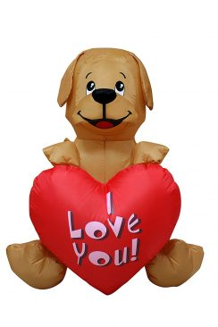 Valentineu0027s Inflatable Yard Decorations